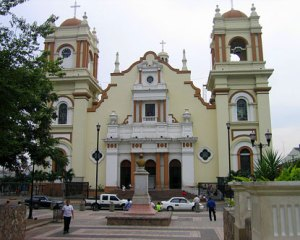 The Cathetral in San Pedro Sula where I was baptized.