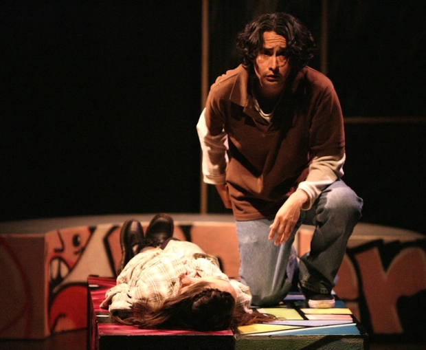 Francisco Garcia in Rome & Juliet at the Shakespeare Center Los Angeles
