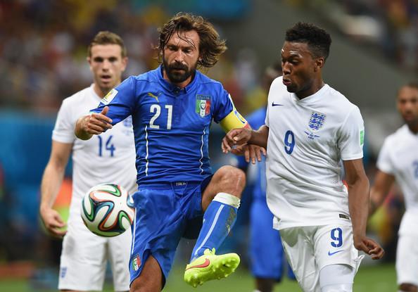 England vs. Italy Group D - 2014 FIFA - Andrea Pirlo Italian team captain center - FIFA.com