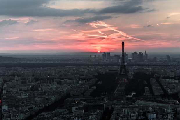 I visited the tallest structure in Paris and decided to wait until the sun went down to capture this. By far my favorite view of the city...and the scariest!