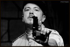 Writer/Performer Rubén C. Gonzalez. Photo by Pocho1 Fotography